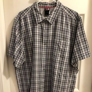 The North Face Button Up Short Sleeve Shirt - XXL